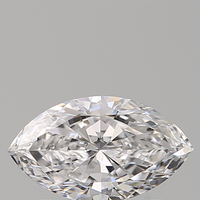 0.50 Carat Marquise Loose Diamond, D, VS2, Ideal, GIA Certified