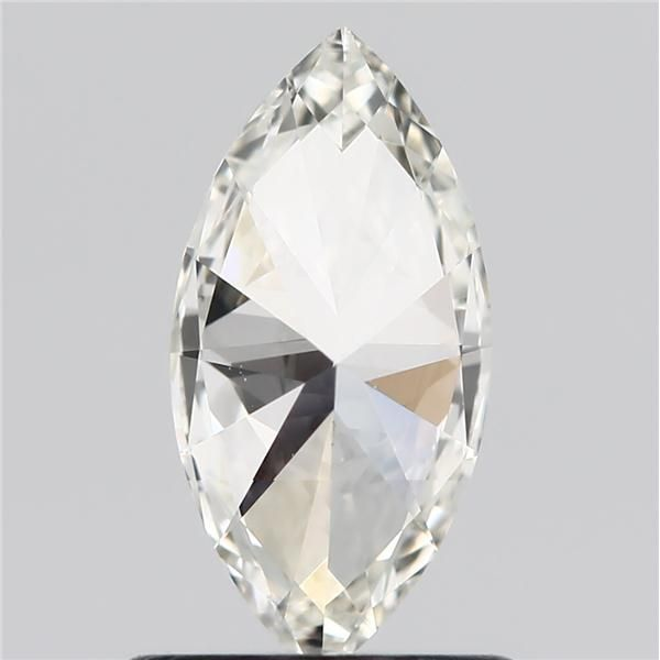 0.71 Carat Marquise Loose Diamond, I, VVS2, Super Ideal, GIA Certified