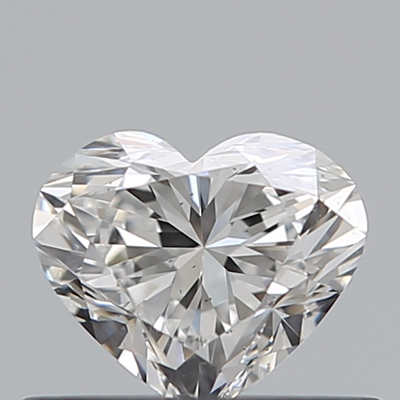 0.42 Carat Heart Loose Diamond, E, VS2, Super Ideal, GIA Certified