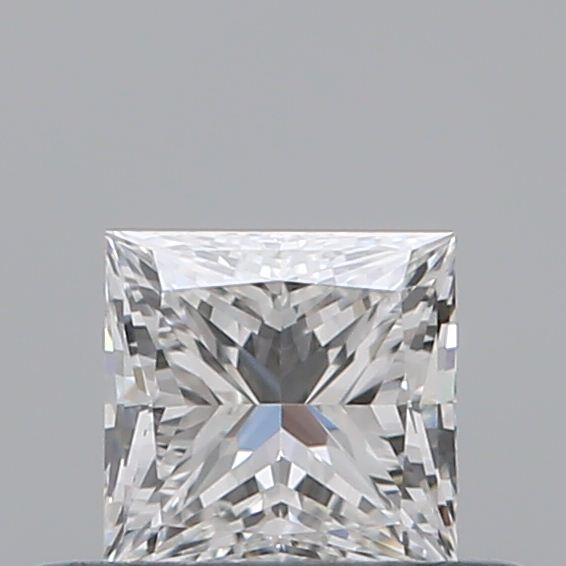 0.34 Carat Princess Loose Diamond, E, VVS1, Super Ideal, GIA Certified