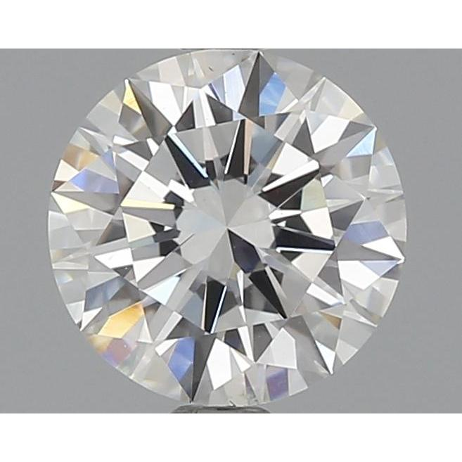 1.07 Carat Round Loose Diamond, G, SI1, Ideal, GIA Certified
