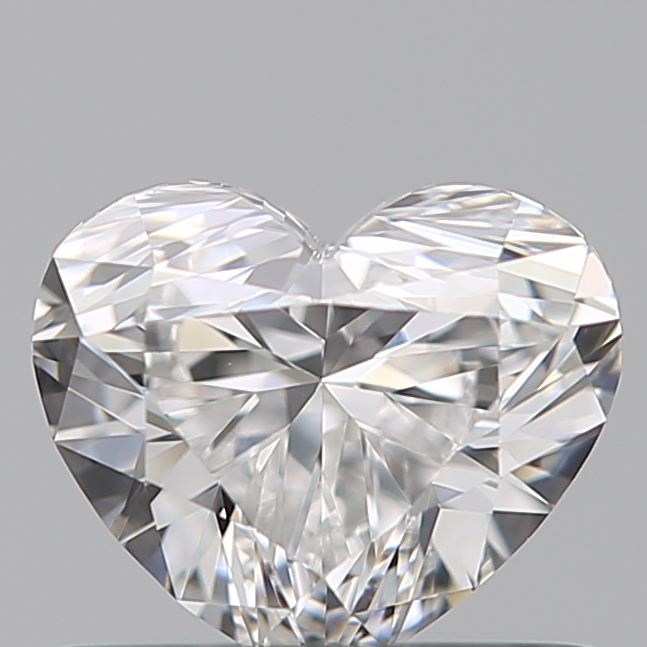 0.52 Carat Heart Loose Diamond, E, VVS1, Super Ideal, GIA Certified