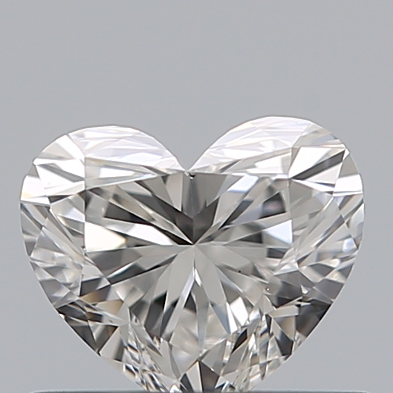 0.54 Carat Heart Loose Diamond, G, VS1, Ideal, GIA Certified