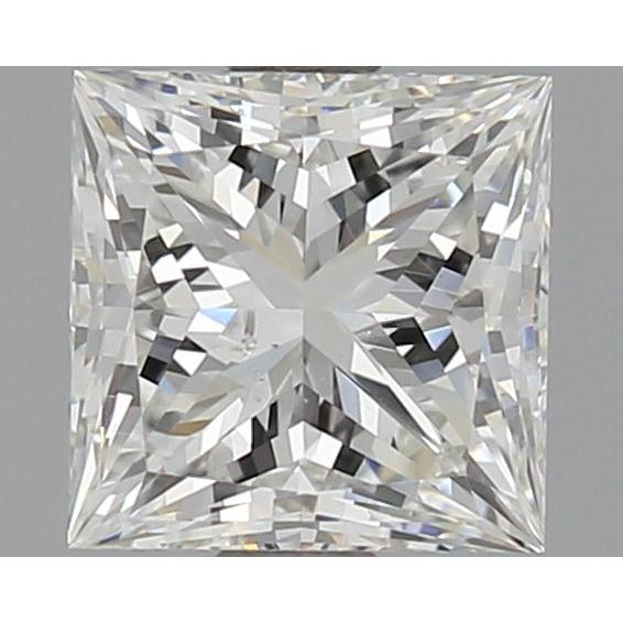 1.05 Carat Princess Loose Diamond, H, SI1, Super Ideal, GIA Certified