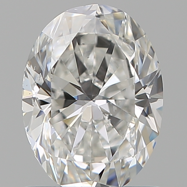 1.00 Carat Oval Loose Diamond, F, SI1, Super Ideal, GIA Certified | Thumbnail