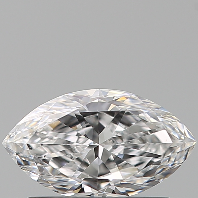 0.51 Carat Marquise Loose Diamond, D, VS1, Ideal, GIA Certified