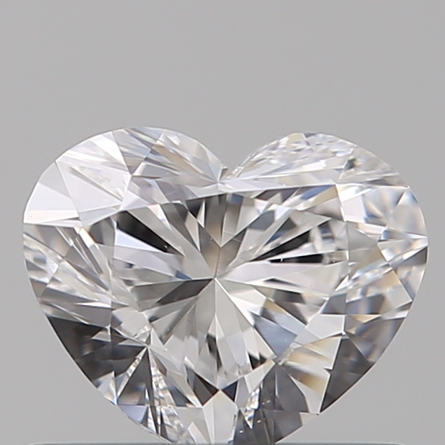 0.50 Carat Heart Loose Diamond, D, VS1, Super Ideal, GIA Certified