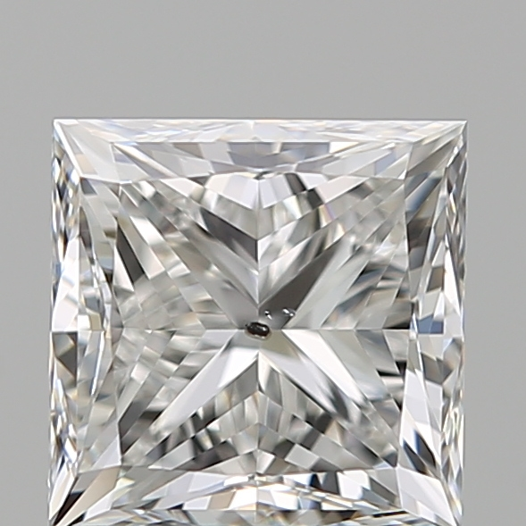 1.21 Carat Princess Loose Diamond, G, SI2, Very Good, GIA Certified | Thumbnail