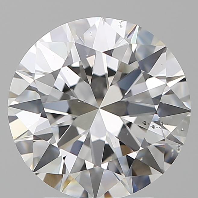 2.50 Carat Round Loose Diamond, F, SI1, Excellent, GIA Certified