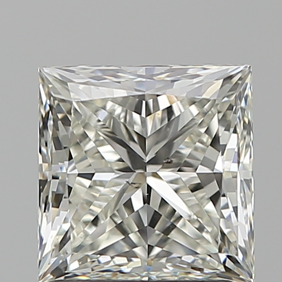 1.70 Carat Princess Loose Diamond, J, SI1, Super Ideal, GIA Certified