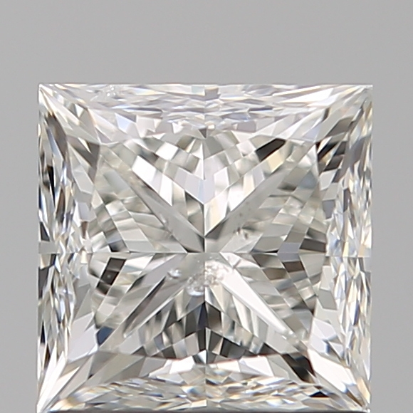 1.21 Carat Princess Loose Diamond, H, SI2, Very Good, GIA Certified
