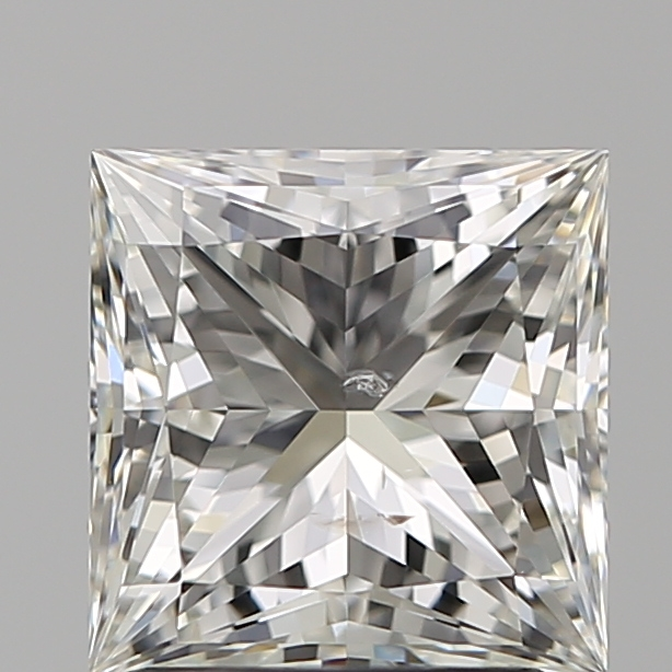 2.01 Carat Princess Loose Diamond, I, SI2, Super Ideal, GIA Certified