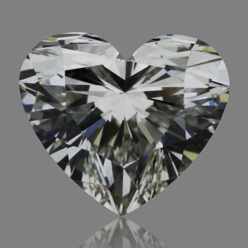 1.02 Carat Heart Loose Diamond, J, VS1, Super Ideal, GIA Certified
