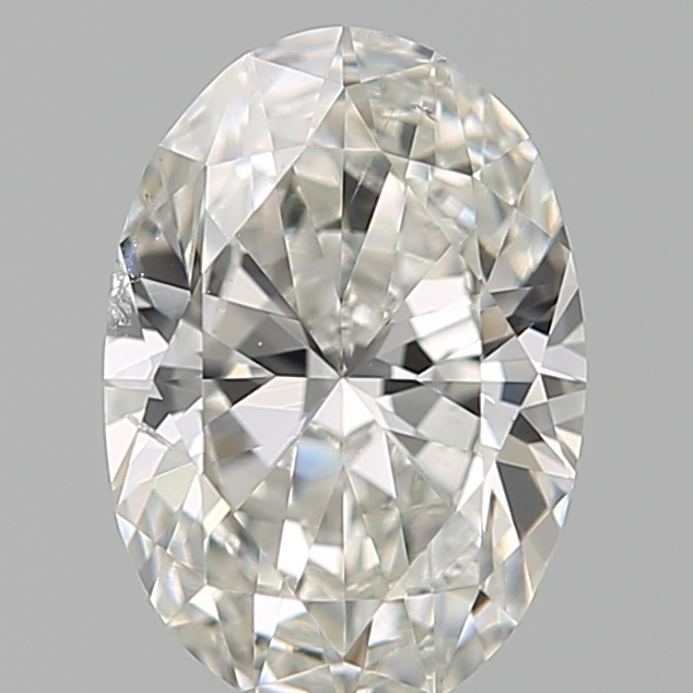 0.70 Carat Oval Loose Diamond, G, SI2, Ideal, GIA Certified