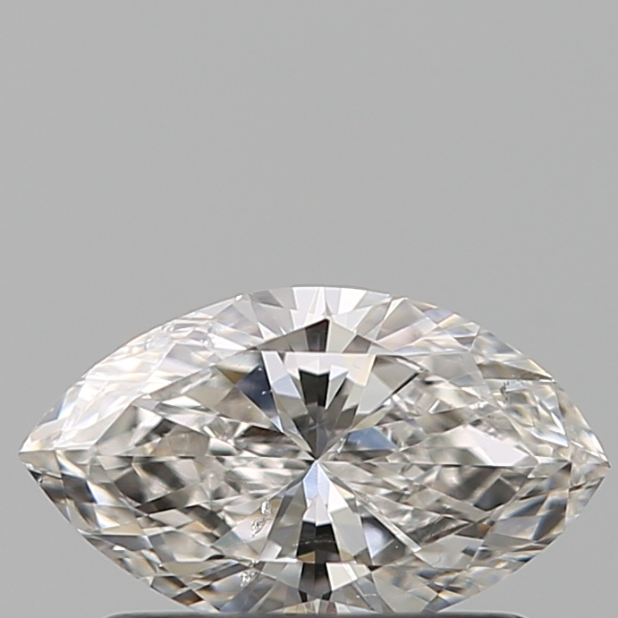 0.51 Carat Marquise Loose Diamond, G, SI2, Excellent, GIA Certified