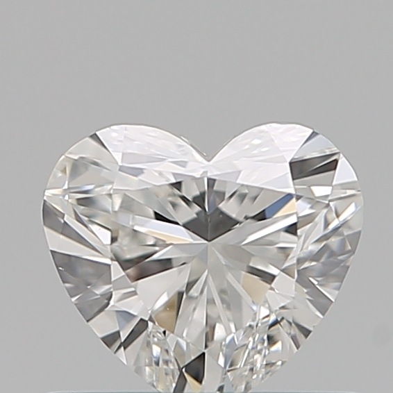 0.49 Carat Heart Loose Diamond, G, VS1, Ideal, GIA Certified