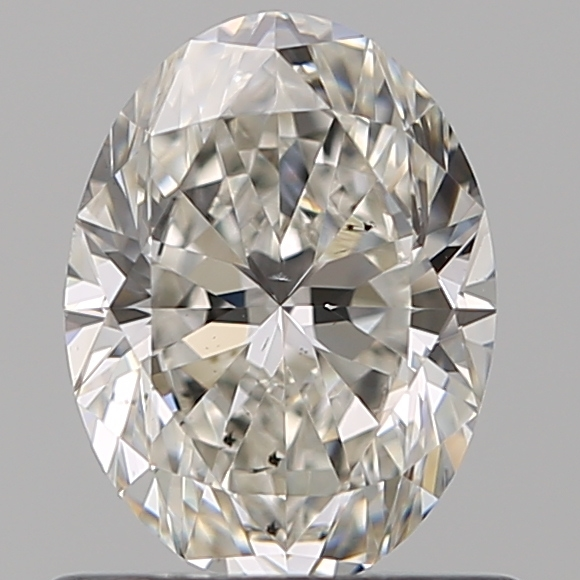 0.80 Carat Oval Loose Diamond, I, VS2, Super Ideal, GIA Certified