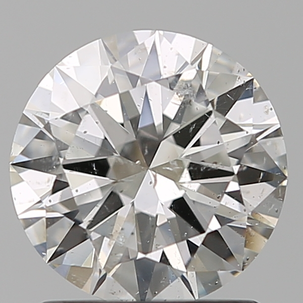 1.29 Carat Round Loose Diamond, H, SI2, Excellent, GIA Certified