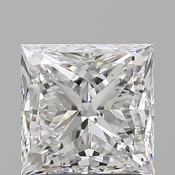 1.60 Carat Princess Loose Diamond, D, VS2, Ideal, GIA Certified