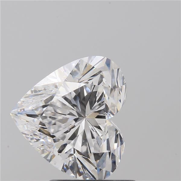 1.70 Carat Heart Loose Diamond, D, VS2, Super Ideal, GIA Certified