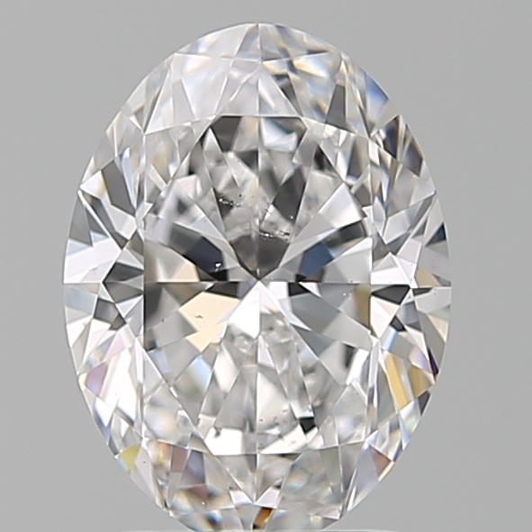 1.90 Carat Oval Loose Diamond, D, VS2, Super Ideal, GIA Certified