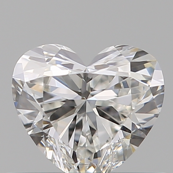 0.38 Carat Heart Loose Diamond, G, VS2, Super Ideal, GIA Certified