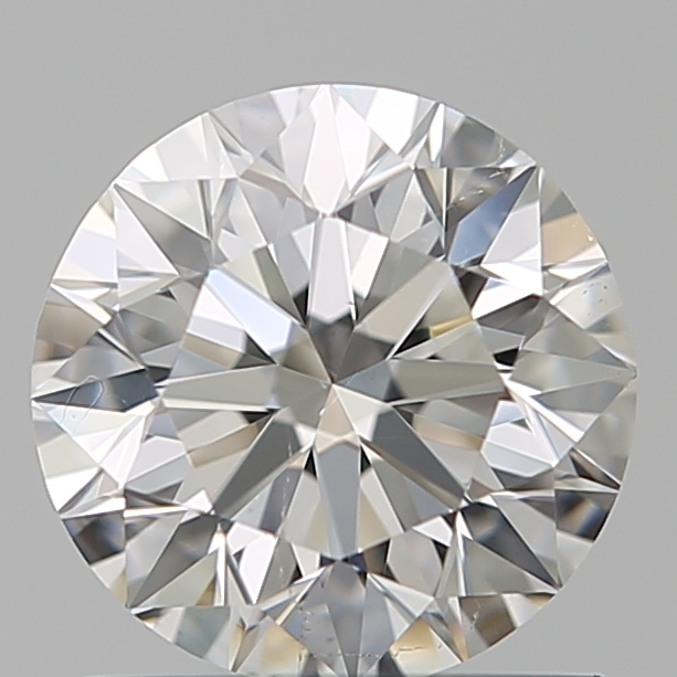 0.90 Carat Round Loose Diamond, F, SI1, Super Ideal, GIA Certified