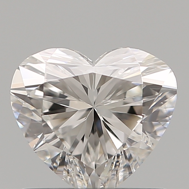 0.75 Carat Heart Loose Diamond, F, VVS2, Super Ideal, GIA Certified