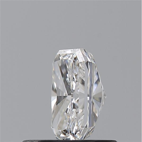 0.55 Carat Radiant Loose Diamond, G, IF, Super Ideal, GIA Certified