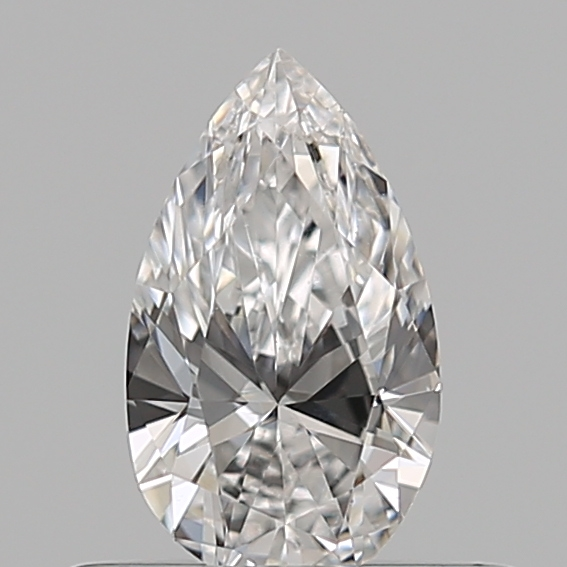 0.32 Carat Pear Loose Diamond, F, VS1, Super Ideal, GIA Certified | Thumbnail