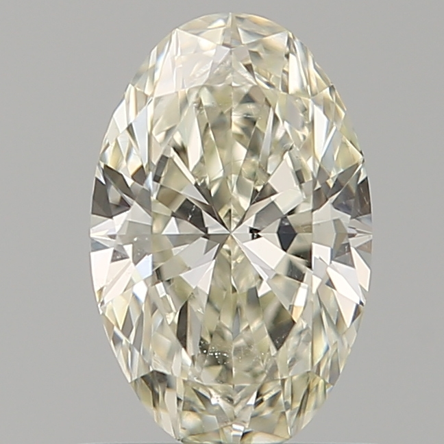 0.70 Carat Oval Loose Diamond, L, SI1, Super Ideal, GIA Certified | Thumbnail