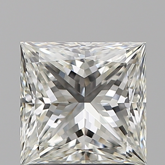 1.51 Carat Princess Loose Diamond, I, VVS2, Super Ideal, GIA Certified