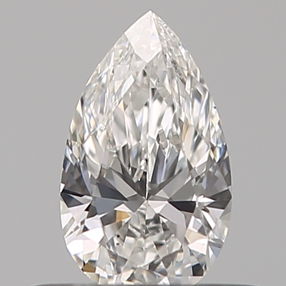 0.35 Carat Pear Loose Diamond, F, VS2, Super Ideal, GIA Certified | Thumbnail