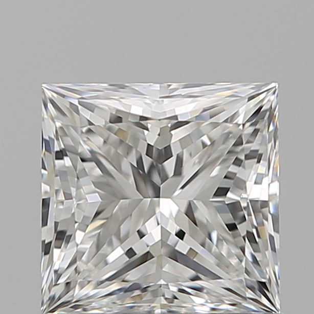 0.90 Carat Princess Loose Diamond, F, VVS2, Ideal, GIA Certified | Thumbnail