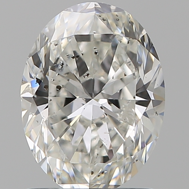 1.20 Carat Oval Loose Diamond, H, SI2, Ideal, GIA Certified