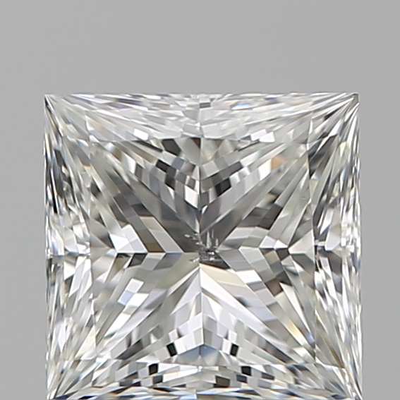 1.01 Carat Princess Loose Diamond, H, SI1, Ideal, GIA Certified | Thumbnail