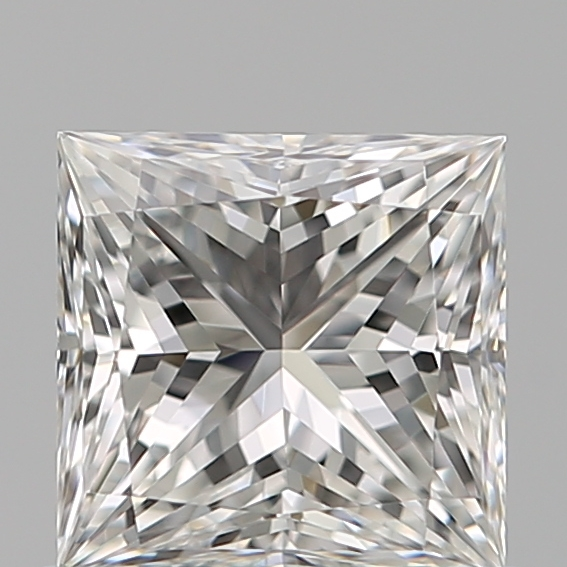 0.70 Carat Princess Loose Diamond, F, VVS1, Super Ideal, GIA Certified