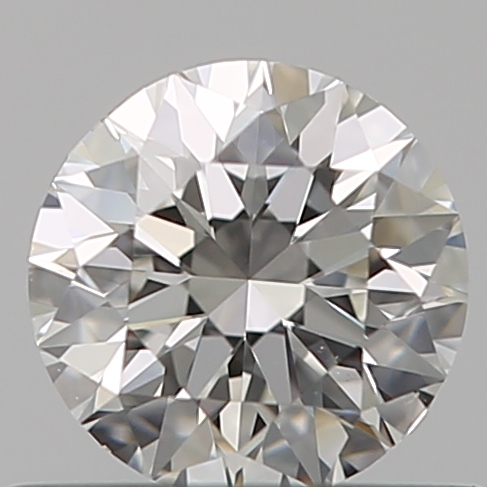 0.50 Carat Round Loose Diamond, G, VS1, Super Ideal, GIA Certified