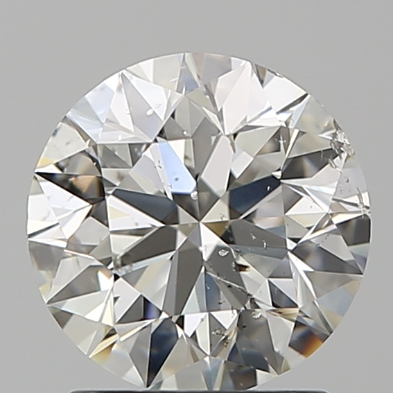 1.50 Carat Round Loose Diamond, I, SI2, Super Ideal, GIA Certified