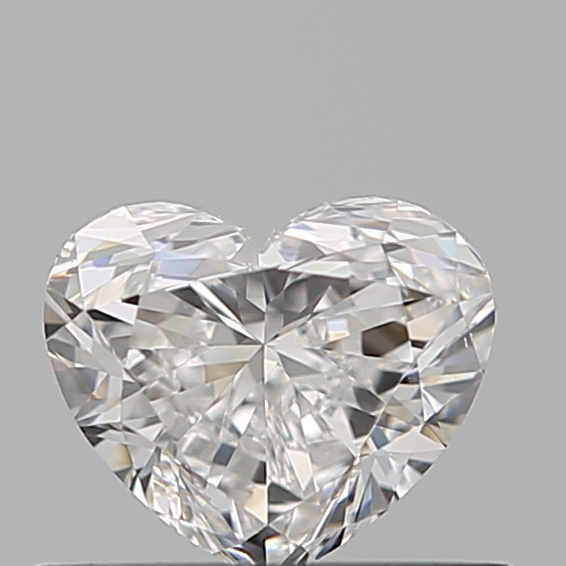0.40 Carat Heart Loose Diamond, E, VS1, Ideal, GIA Certified