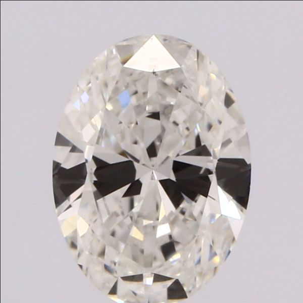 0.58 Carat Oval Loose Diamond, D, VVS1, Super Ideal, GIA Certified