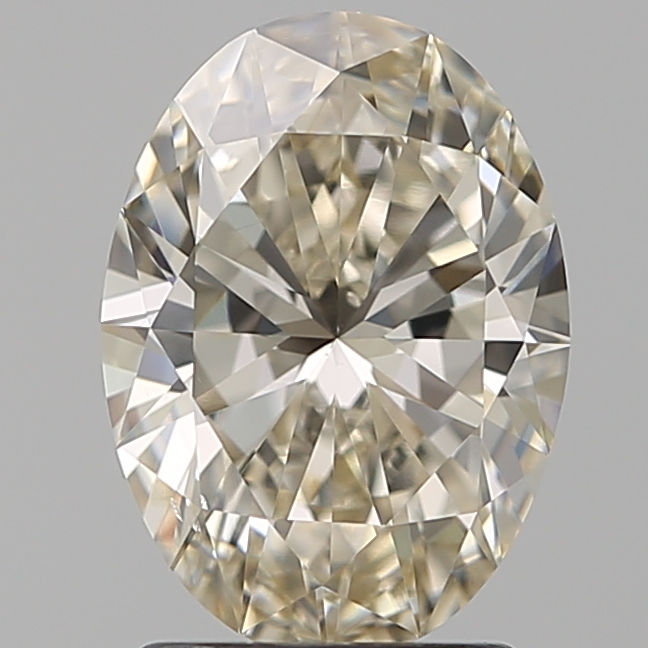 1.70 Carat Oval Loose Diamond, L, SI1, Super Ideal, GIA Certified | Thumbnail