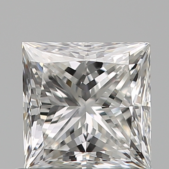 0.80 Carat Princess Loose Diamond, F, SI1, Super Ideal, GIA Certified
