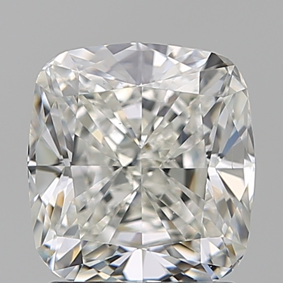 1.79 Carat Cushion Loose Diamond, H, VS2, Ideal, GIA Certified