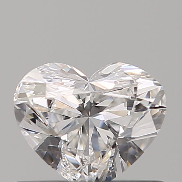 0.50 Carat Heart Loose Diamond, E, VVS2, Super Ideal, GIA Certified