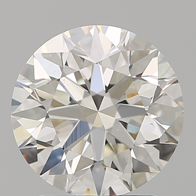 1.80 Carat Round Loose Diamond, I, SI1, Super Ideal, GIA Certified