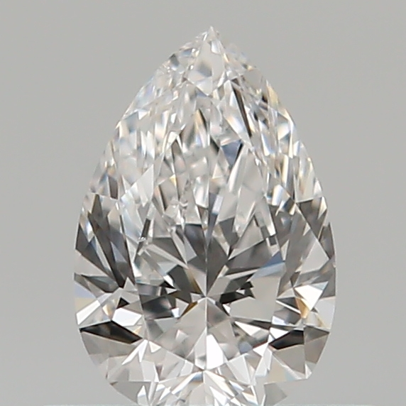 0.40 Carat Pear Loose Diamond, D, VS1, Super Ideal, GIA Certified | Thumbnail