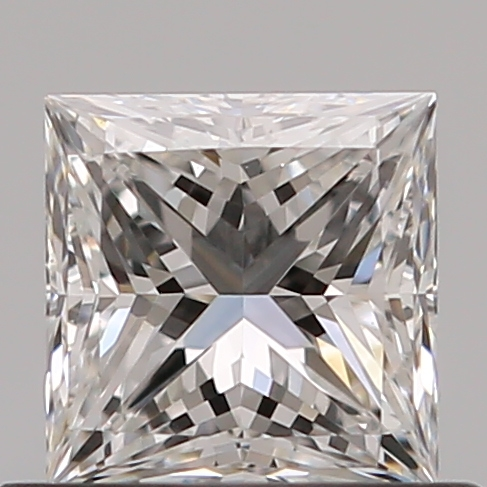 0.52 Carat Princess Loose Diamond, F, VVS2, Super Ideal, GIA Certified | Thumbnail