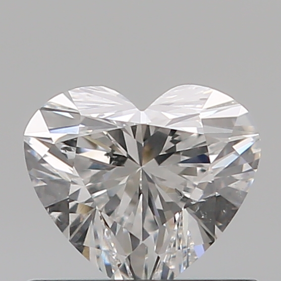 0.50 Carat Heart Loose Diamond, E, SI1, Super Ideal, GIA Certified