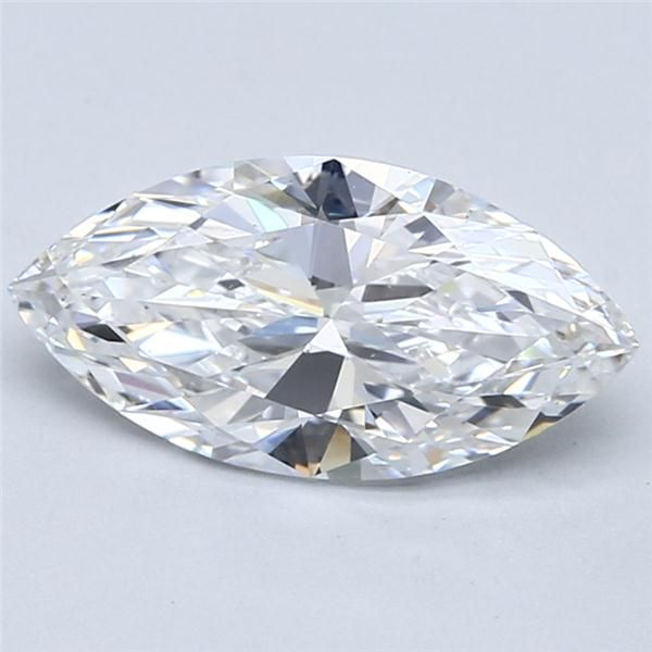 2.01 Carat Marquise Loose Diamond, D, VS2, Super Ideal, GIA Certified